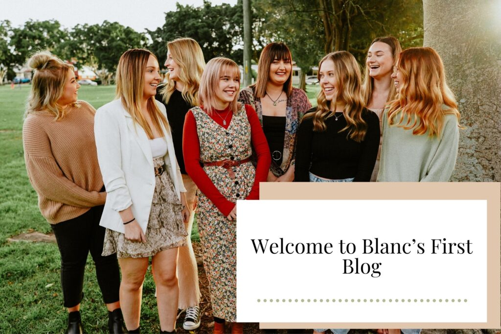 Welcome to Blanc's First Blog