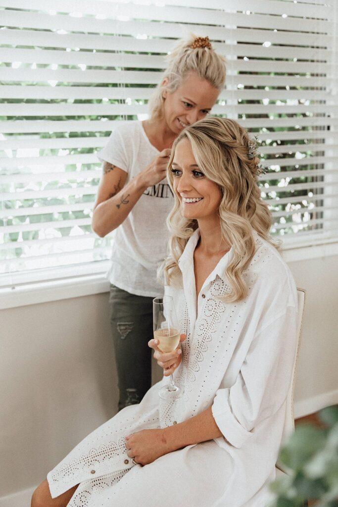 Wedding Hair Styling - Blanc Hair Studio