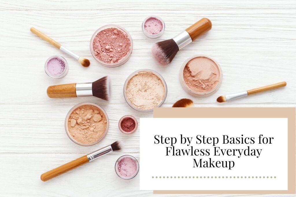 Step by Step Basics for Flawless Everyday Makeup - Newcastle Hair Salon - Blanc Hair Studio