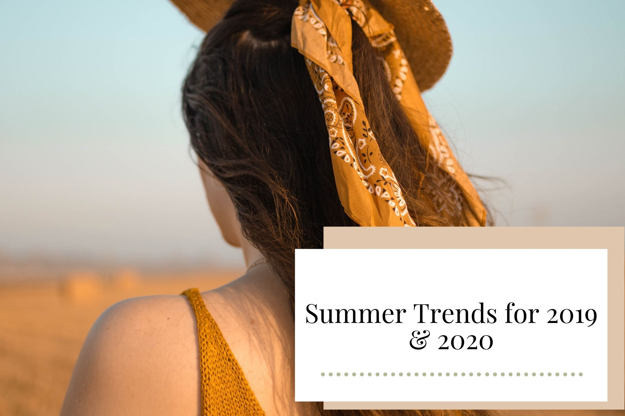 Summer Trends for 2019 & 2020 - Newcastle Hair Salon - Blanc Hair Studio