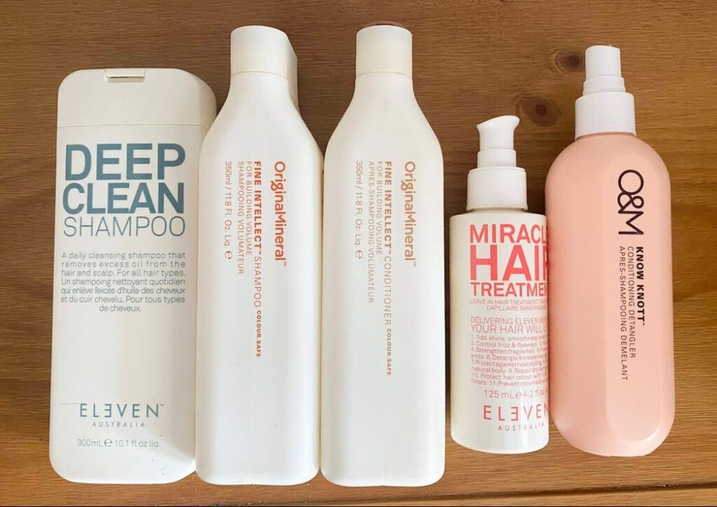 Emma's At Home Hair Care Routine -