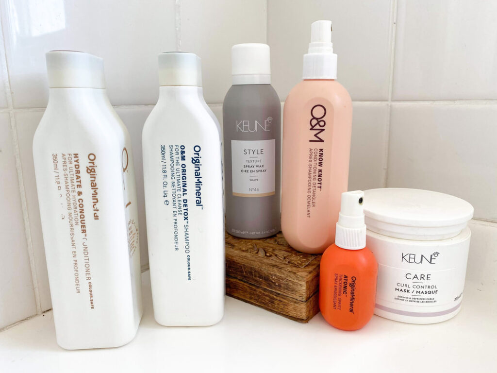 Boss Lady Brie's At Home Hair Care Routine -
