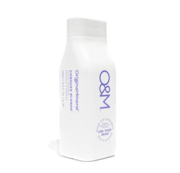 O&M Conquer Blonde Silver Masque -