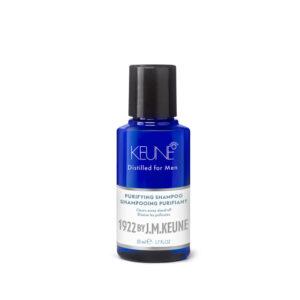KEUNE MAN Mini Purifying Shampoo - Newcastle Hair Salon - Blanc Hair Studio