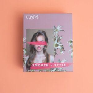 O&M Smooth & Style Xmas Pack - Newcastle Hair Salon - Blanc Hair Studio